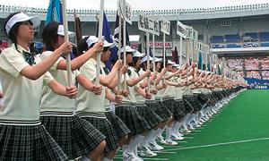 高校野球千葉大会式典補助(千葉マリンスタジアム)